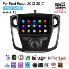 "9"" Android 9.1 Car Radio Stereo Gps Navigation Wifi 1+16G For Ford Focus 2012-17"