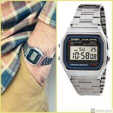 Casio Watch Retro Digital Unisex A-158W  A-158, Reloj Original Para Hombre Mujer