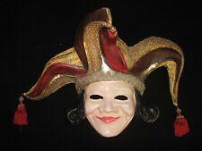 Unikat! Original  aus Pappmaché handgemachte Maske aus Venedig!