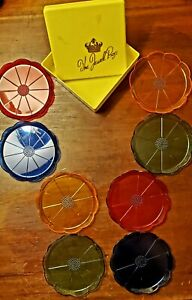 Vintage Colorful Coasters