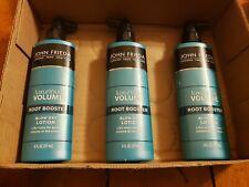 New Lot 3 John Frieda Luxurious Volume Root Booster Blow Dry Lotion 6 fl oz