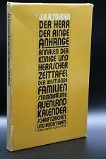 Der Herr der Ringe Anhänge - J. R. R. Tolkien (1981) (Taschenbuch) (Klett-Cotta)