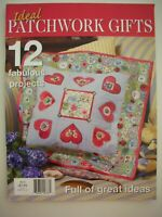 IDEAL PATCHWORK GIFTS Magazine No.2 - 12 Projects & Patterns Attached - LN