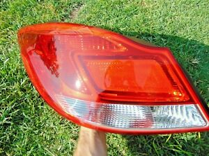 11-13 Buick Regal Tail Light Assembly LH Drivers Side Tested OEM