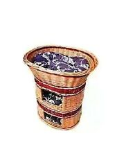 3 Tier Cat Bed Handmade Baskets incl cushions