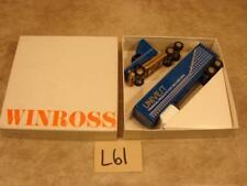 L61 VINTAGE WINROSS DIECAST TRUCK & TRAILER 1:64 UNIVEST FINANCIAL PRODUCTS