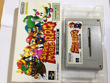 B63 SUPER MARIO RPG JAPAN SNES SFC Nintendo Super Famicom Japanese Used boxed
