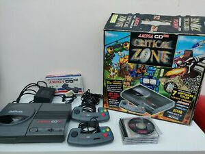 Commadore Amiga CD32 Games Console (PAL) 2 x Controllers & 10 x Games in box..