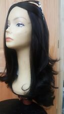 Kosher Wig Malky European Sheitel Human Hair Dark Brown 2/7
