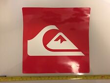 """(1) 7.5"""" inch Quiksilver Authentic 2017 PRO TEAM RIDER Mountain & Wave Stickers"""