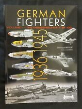 German Fighters 1939-1942 - Volume 1 - Bf 109 - over 600 color profiles