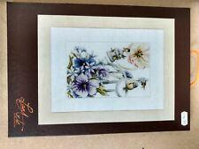 Lanarte Marjolein Bastin Azul senos & Violetas Cross Stitch Kit