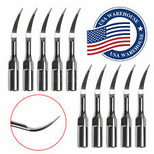 10 P1 Dental Ultrasonic Scaling Tips compatible EMS Woodpecker Scaler Handpiece
