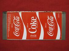 Coca Cola Unrolled Can Flat 250ml Unused Australia Rare Vintage Soda Sign Tin