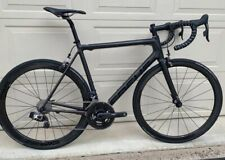 Focus Izalco Max 56cm bicycle enve3.4s Sram Etap Quarq Power Metre BlackedOut