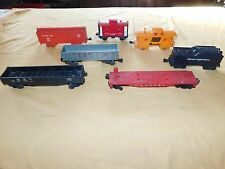VINTAGE TOY  TRAINS 3 LIONEL 4 MARX B & O ROCK ISLAND PACEMAKER PENN CENTRAL+