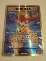 Misty's Determination Full Art 108/108 Pokemon Card