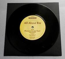 """All About Eve-Flores en el cabello Reino Unido 1987 fonograma promocional 7"""" SINGLE"""