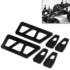 Alloy Chassis Lift Plate Set Kit for 1/10 RC Axial SCX10 Model Car Part Black