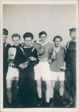 Photo Royal Navy Servicemen Football team 1950