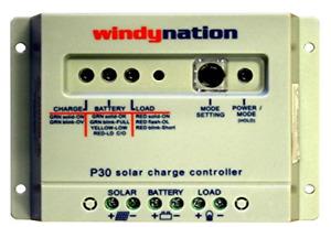 WindyNation P30 30A Solar Panel Regulator Charge Controller 12V 24V 390W 780W