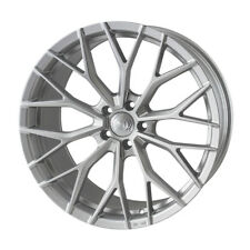 "20"" Quantum44 SFF2 Wheels Quartz Silver Audi A4 A6 A8 5x112 Massive Concave"