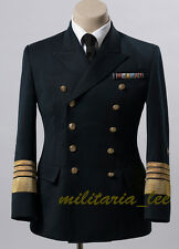 WW2 German Repro Kriegsmarine( Navy)Admiral Navy Blue Whipcord Tunic All Sizes