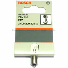 Bosch Genuine 24V GLI24V PLI24V Cordless Torch Light Bulb 2 609 200 308