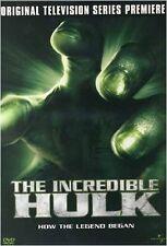 USED DVD - THE INCREDIBLE HULK -ORIGINAL TELEVISION PILOT,PREMIERE  Lou Ferrigno