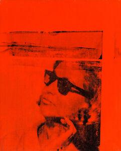 Ethel Scull 1963 100cm x 80cm High Quality Canvas Art Print