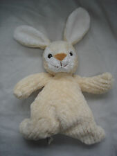 """JOHN LEWIS CREAM RIBBED BUNNY RABBIT FLOPPY SOUGHT AFTER SOFT TOY APPROX 8"""""""
