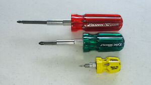 Picquic MultiBit Screwdriver Starter Set: 3 Screwdrivers for a Great Price!
