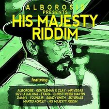 Alborosie Presents His Majesty Riddim - Various Artists (NEW CD)