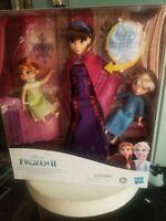 Disney Rare Singing Queen Iduna Shawl Doll Frozen Barbie Anna Elsa Princess Ken