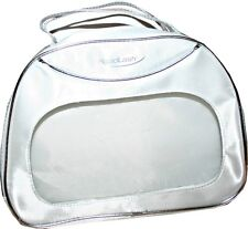 RapidLash Large Cosmetic Bag with Zip Closure, Color Silver