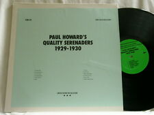 PAUL HOWARD Quality Serenaders 1929-30 Lawrence Brown Lionel Hampton LP