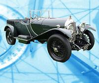 Auto Drawings Scale 1/12 1/16 1/24 &1/32 1926 3-Litre Bentley Digital plan on Cd