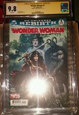 Wonder Woman Rebirth #1 CGC SS 9.8 signed by Liam Sharp