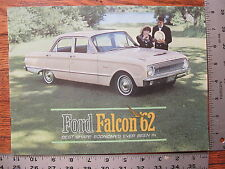 Original 1962 62 Ford Falcon Futura Club Wagon Dealer Stamp Sales Brochure 20 pg