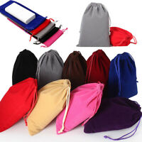 Velvet Bags Gift Bag Jewelry Wedding Party Favors Gifts Drawstring Bags Pouches