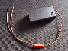 JST Plug and Socket  Pre-Wired with PP3 Battery Holder Case for 9V Battery