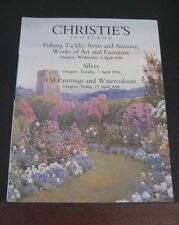 CHRISTIE'S SCOTLAND CATALOGUE 1998 ART FURNITURE FISHING TACKLE ARMOUR SILVER