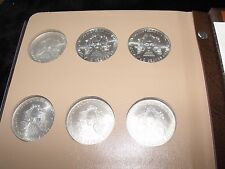 COMPLETE SET HAND-SELECTED 32 SILVER EAGLE COINS IN NEW DANSCO ALBUM  1986-2017