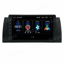 9'' Android 9.1 Car Stereo Radio MP5 GPS Wifi For BMW E39 E53 5 Series X5 Canbus