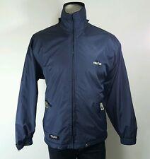 Nautica womens navy fleece lined reversible jacket Large