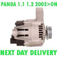 FIAT PANDA 1.1 1.2 2003 2004 2005 2006 2007 2008 2009 2010 > on ALTERNATOR