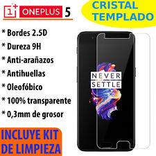 CRISTAL TEMPLADO PROTECTOR DE PANTALLA 0.3MM PARA ONEPLUS 5  PREMIUM 9H 2.5D