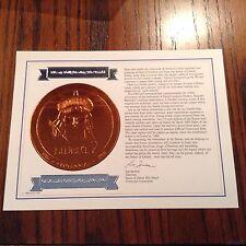 Liberty Enlightening The World Centennial Celebration 1886-1986 w/Official Seal