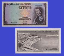 UNC Malta 20 Maltese Lira banknote 1989 Reproduction