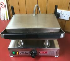 VELOX SILESIA Model CG-1 Ribbed Contact Grill - Free Postage